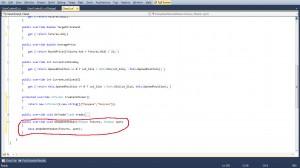 Рис6 - Метод OnUpdateStakan реализованный по умолчанию.