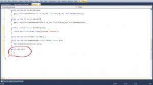 Рис7 - Создаем метод Info(можете назвать его по своему)
